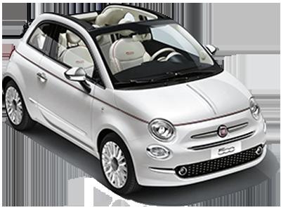 Fiat 500C cabrio o similare